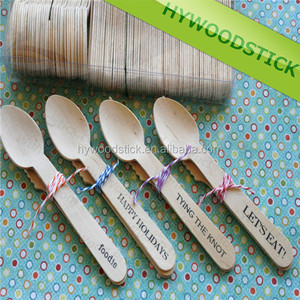 Factory Producing Disposable Carving Wooden Spoons