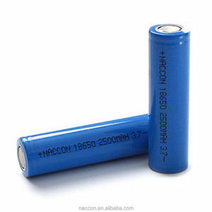 18650 2500mah rechargeable lithium-ion battery 5v