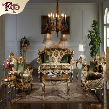 Indoor Furniture Of Europe Style Sofa Set Hand Crave Royal