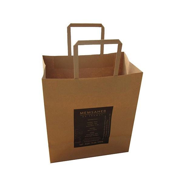 recycler le sac de papier kraft brun sacs d 39 emballage id du produit 500004218865. Black Bedroom Furniture Sets. Home Design Ideas
