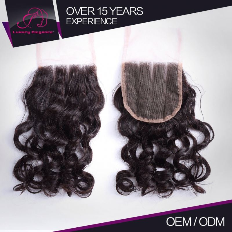 Affordable Price Real Virgin Peruvian Hair Lace Closures Injection Toupee Closure