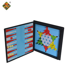 Personalized 7 in 1 mini ludo ular tangga <span class=keywords><strong>backgammon</strong></span> piece grosir set