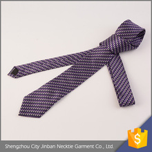 High quality handmade stripe silk school tie and belts