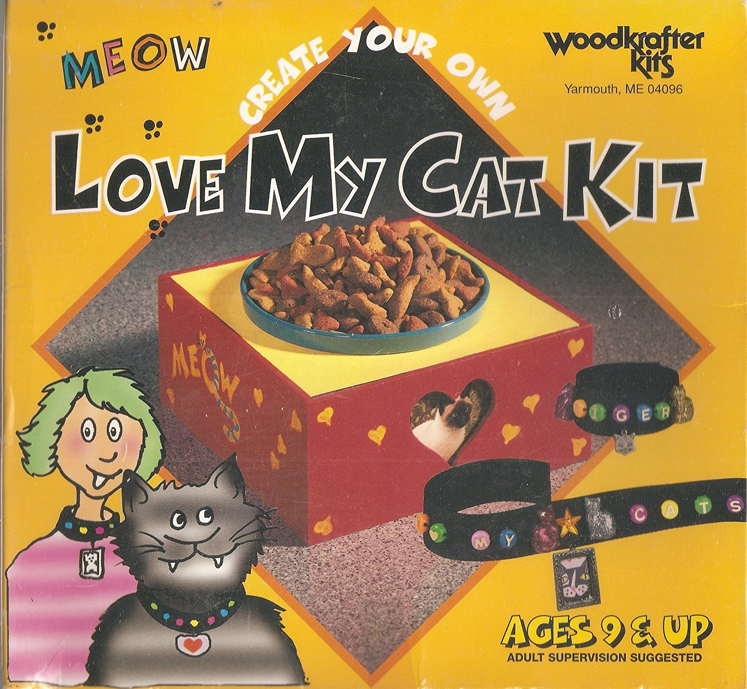 Create Your Own Love My Cat Kit by WoodKrafter Kits