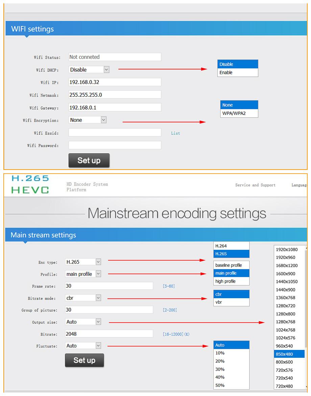 URay HEVC H.265/H.264 HD/3G SDI A IP In Diretta Streaming Video Encoder Audio HTTP, RTSP, RTMP, UDP, ONVIF