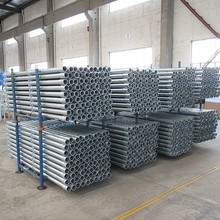 China Cheap Price Construction Building Material Frame Q195 Q215 Q235 Q345 Metal Scaffolding Steel tube Pipe For Sale