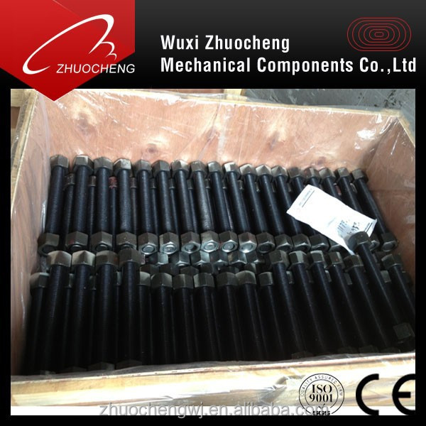 China manufacturer ASTM A 193 B7 threaded rod with hole