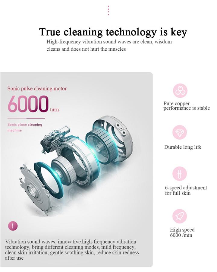 Новая силиконовая Очищающая щетка для лица