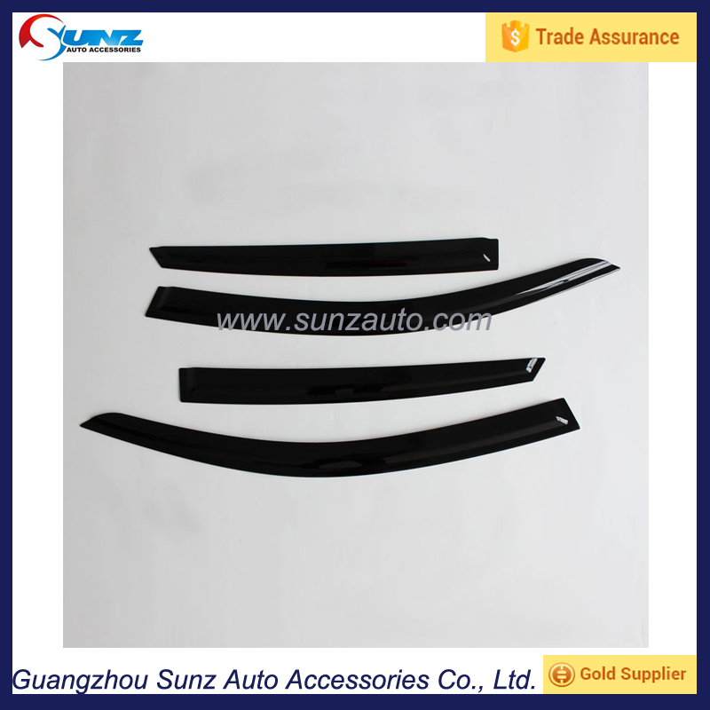 Auto Exterior Accessories ABS Compression Door Visor for Honda Civic 2016