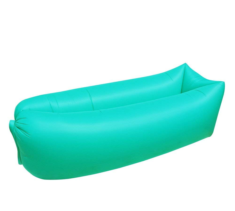 ONETWO Outdoor Air Lounger,Portable Skin-friendly Waterproof Against Tear Lunch Break Air Sofa Air Sofa Hammock For Pool Travel Beach