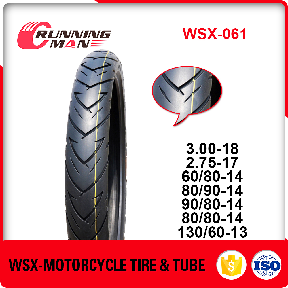 Tubeless Scooter Motorcycle Tyre 130/60-13