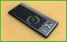 SKM-13 Mini Computer Wireless Keyboard with trackball Factory