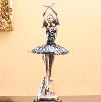 ballerina christmas ornament resin ballerina figurine