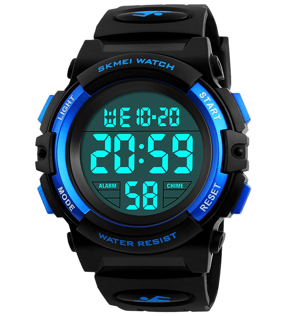 9b790e101 Get Quotations · Kids Digital Watch,Boys Sports Waterproof Led Watches With  Alarm,Wrist Watch For Boys