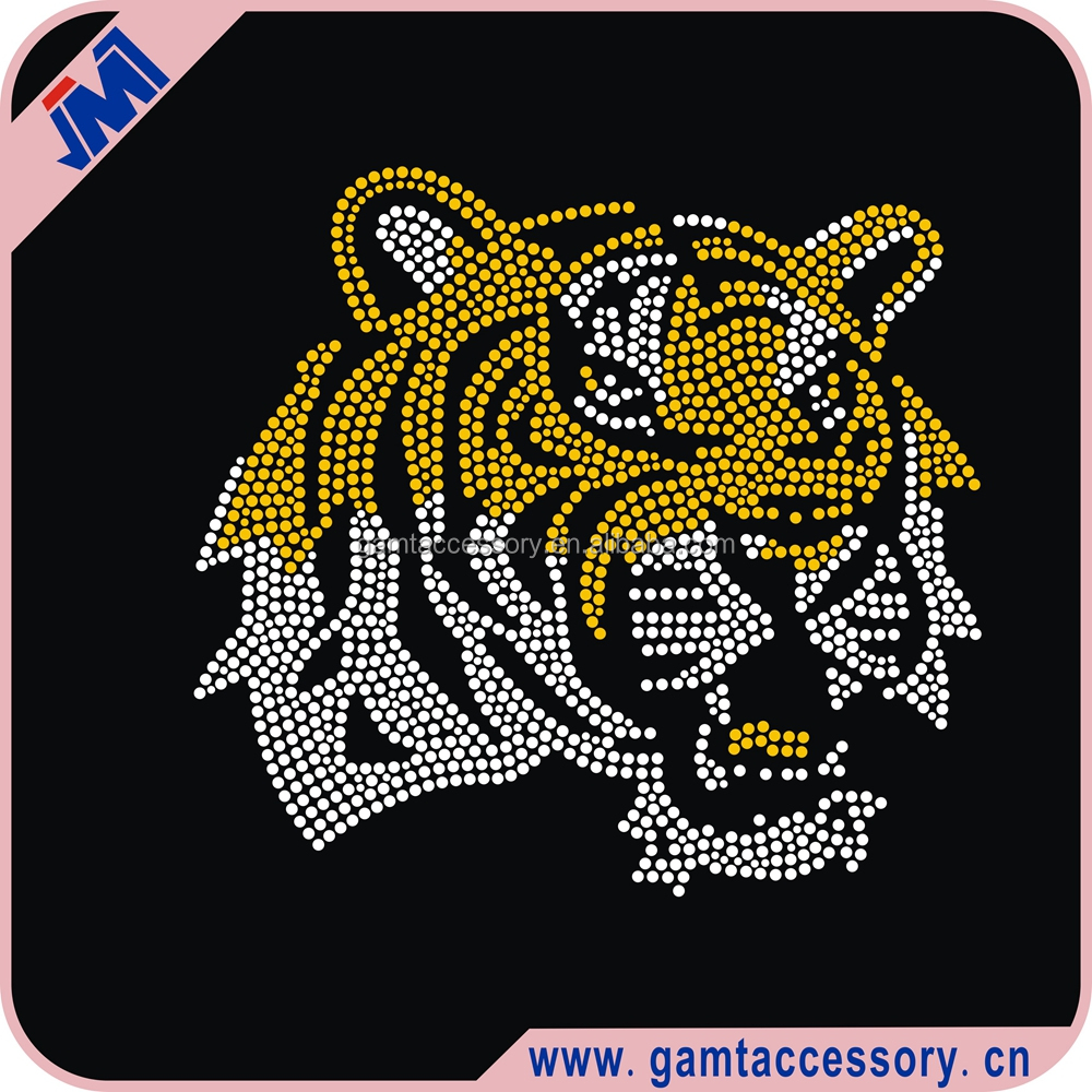 Animal iron on motif suppliers for T Shirt GMT