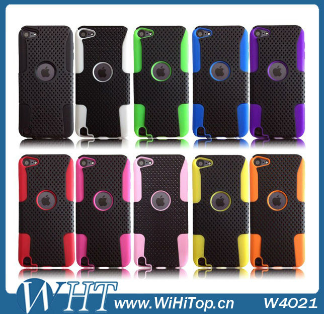 For Apple iPod Touch 5 PC Silicon Case