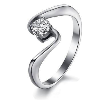 Modern Design Ring Means To Send His Girlfriend A Birthday Present Gj7005