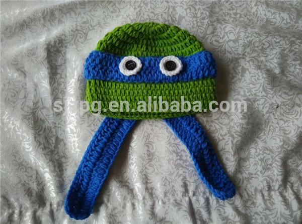 gorro sombrero del invierno sombrero animal patrones de crochet de ...