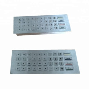 40-Key Numeric Intergrated Function Metal Keyboard