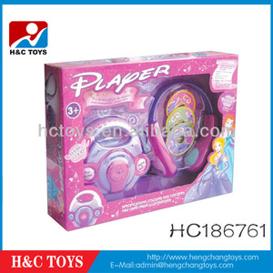 Girls toy B/O Music CD Player,Toy CD Player HC186761