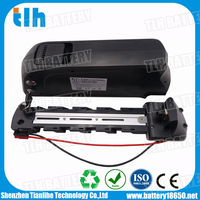 rechargeable rear rack mounted 36V 13Ah lithium battery e-bike with Samsung 2600mah cell