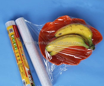 Small Roll Kitchen Food Wrapping Material Pvc Cling Film Plastic Cling Wrap  - Buy Pvc Film,Food Wrapping Plastic,Wrap Plastic Film Roll Product on