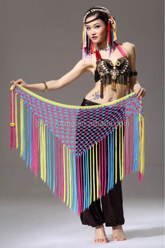 High Quality & New Cheap Belly Dance Hip Scarf