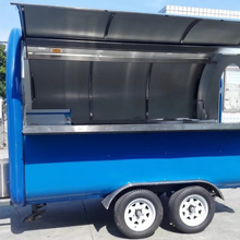 Mobile catering vans camion food truck a vendre electric dining cart for sale