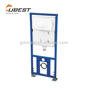 High quality wall-hung hot sale wall hanging concealed flush price toilet tank