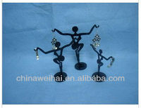 Human shape Acrylic Earrings Display Holder