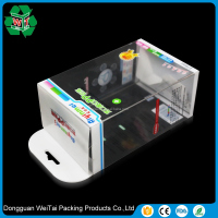 clear plastic pp carton packaging pp box for teddy bear