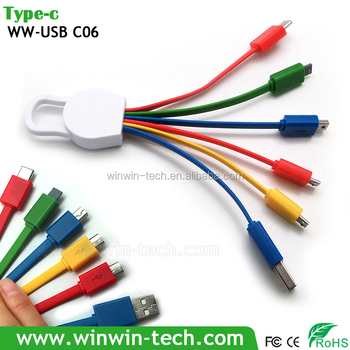 5 In 1 Usb 3.1 Type C Cable For Mobile Phones Usb Cable Wiring ...