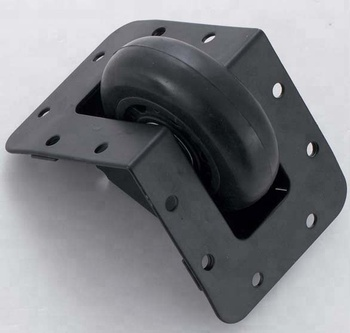 2.5'' Edge Mount BLACK rolling case wheel corner casters