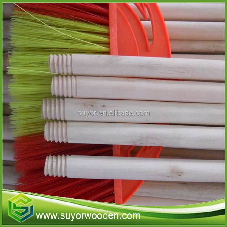 Natural long handle broom/mop and broom holder made from broom factory in China