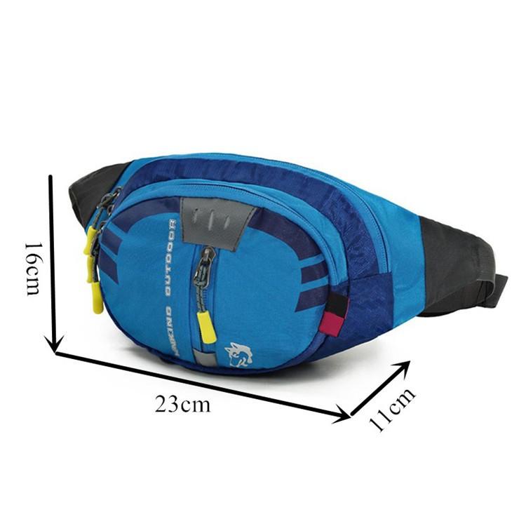 Atacado CY-2009 personalizado pequeno caminhadas cintura saco