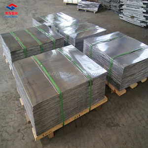 5mm 6mm 7mm 8mm 9mm 99.99% Pure lead Plate For Acid Battery
