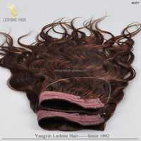 High Quality Hair Weaves Flip in Halo Hair Extension