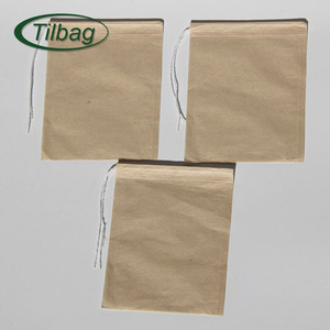 Factory directly sales High quality filter pulp paper biodegradable tea bag