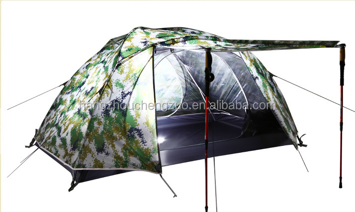 Hot Sale Factory Price Backpacking Double Layers 2 Person Waterproof Outdoor Hunting Tent, TXZ-0013,Four Seasons Tent
