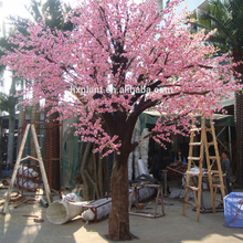 White artificial indoor cherry blossom tree for wedding decor cherry blossom branches wholesale