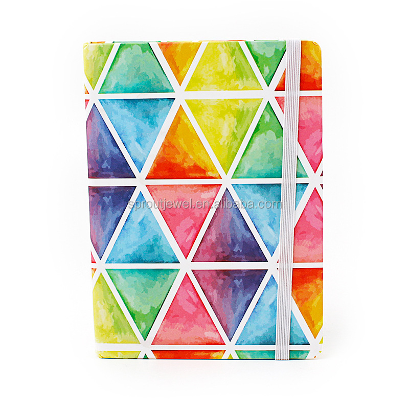Colorful Geometric New Notebook Series 4 Designs