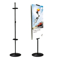 No Moq Limited cheap outdoor foam board poster display stand