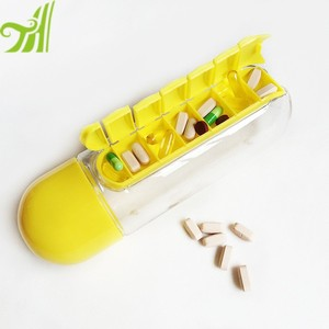wholesale China Factory Plastic Cheap Sport Pill Box Water Bottle