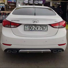 Body kit diffuser rear lip spoiler for 2014-2015 Hyundai Elantra Avante