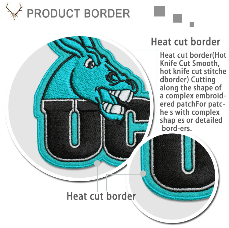 Direct factory custom high quality cheap patches service patches