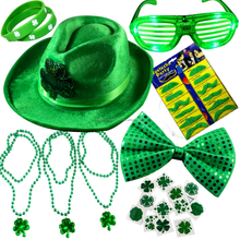 St. Patrick's Day Accessory Set Party Favors Toy 32 Pieces Party Favors St Patty