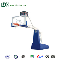 International standard basketball equipment 10 year old indoor basketball hoop