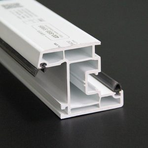 upvc heat resistant building material profile/upvc plastic profile for window