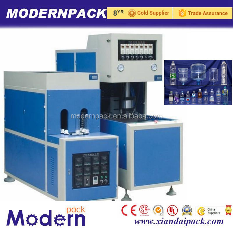 Semi-automatic pet 5 gallon hot filling blowing molding machine price