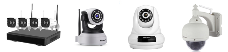SriHome SH020 wireless FHD auto-tracking Camera 1080P Night vision indoor baby monitor home security Camera